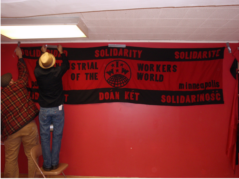 Setting up for the 2009 Red November, Black November (Photo: Erik Davis)