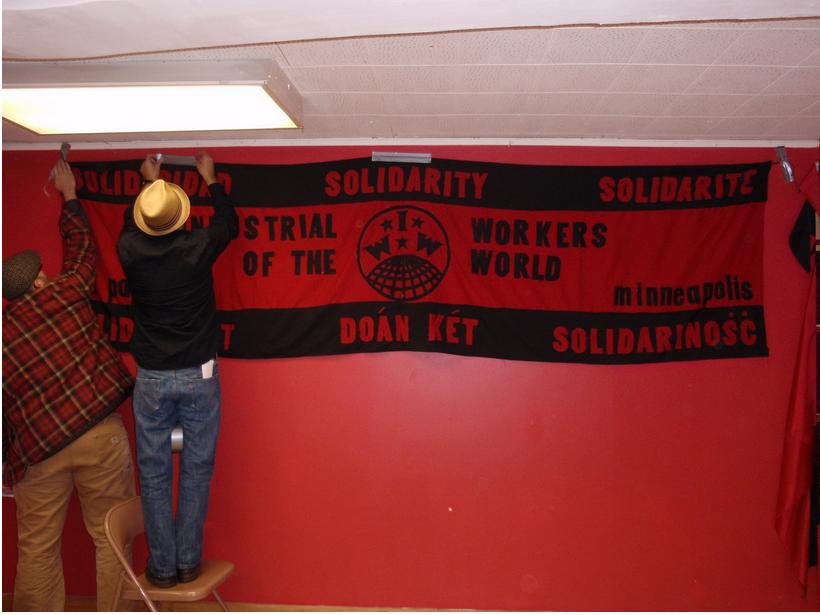 Setting up for the 2009 Red November, Black November (Photo: Erik Davis)